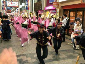 パル商店街での踊り